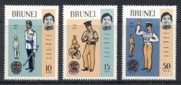 Brunei 1971 Royal Brunei Police Force MUH - Brunei (1984-...)