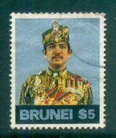 Brunei 1974 Sultan Hassanal Bolkiah $5 FU Lot82347 - Brunei (1984-...)
