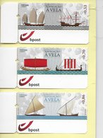 TIMBRES- STAMPS - SELLOS - FRANCOBOLLI - PORTUGAL - BATEAUX - SERIE TIMBRES NEUFS - MHN - Barcos