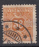 DENEMARKEN - Michel - 1907 - Nr 6 X (12 3/4) - Gest/Obl/Us - Fiscali