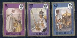 Brunei 1978 QEII Coronation 25th Anniversary MUH - Brunei (1984-...)