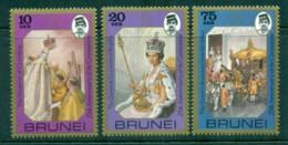 Brunei 1978 QEII Coronation, 25th Anniversary , Royalty MUH - Brunei (1984-...)