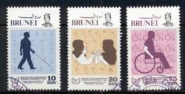 Brunei 1981 Intl. Year Of The Disabled FU - Brunei (1984-...)
