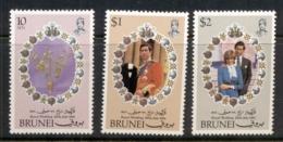 Brunei 1981 Royal Wedding Charles & Diana MUH - Brunei (1984-...)
