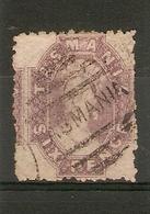 TASMANIA 1864 6d SLATE-VIOLET SG 66 FINE USED Cat £50 - 1853-1912 Tasmania