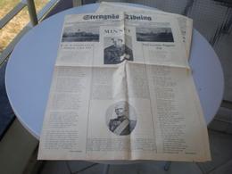 Strengnas Tidning 1923 - Livres, BD, Revues
