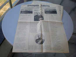 Strengnas Tidning 1923 - Books, Magazines, Comics