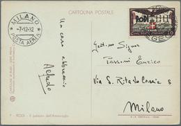 "Ägäische Inseln: 1932, 30 C ""20th Anniversary Of Italian Occupation"", Tied By Cds POSTA AEREA RODI / - Aegean"