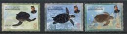 Brunei 2000 Marine Life Turtles MUH - Brunei (1984-...)