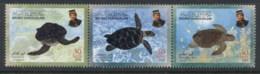 Brunei 2000 Marine Life Turtles Str3 MUH - Brunei (1984-...)