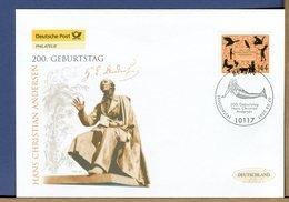 GERMANY - FDC 2005 - HANS CHRISTIAN ANDERSEN - SIRENA SIRENETTA - Den Lille Havfrue - Fiabe, Racconti Popolari & Leggende