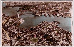 Sydney Luftbild Foto Postcard Ansichtskarte 1935 - Sydney