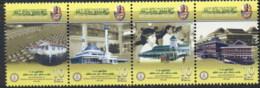 Brunei 2002 Sultan Bolkiah 10th Anniv. Str4 MUH - Brunei (1984-...)