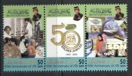 Brunei 2002 Jabatan Telecom Str3 MUH - Brunei (1984-...)