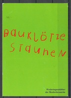 Werbepostkarte Plakatwettbewerb D. Dt Studentenwerks 1998, 2000 Gesendet Mit Briefmarke - Advertising