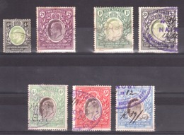 Afrique Orientale Britannique Et Ouganda - 1903/09 - N° 97, 101, 116, 118, 119, 120 Et 121 - Voir Description - Cote+550 - Protectoraten Van Oost-Afrika En Van Oeganda