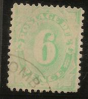 AUSTRALIA 1906 6d Postage Due Wmk Inv SG D50a U #AOG16 - Postage Due
