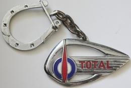 Jfdon Keychain émaillé TOTAL Saint Christophe - Key-rings