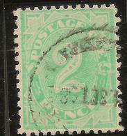 AUSTRALIA 1906 2d Postage Due SG D47 U #AOG14 - Postage Due