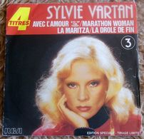 45T  SYLVIE  VARTAN   **  AVEC L AMOUR - Vinyl Records