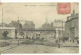 59 - CAMBRAI / AVENUE DE VALENCIENNES - Cambrai