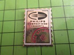 210A Pin's Pins / Beau Et Rare : Thème POSTE : TIMBRE-POSTE PHILIPS COMPACT DISC DIRE STRAITS - Mail Services
