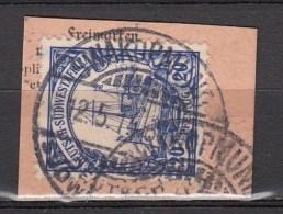 DUITSE KOLONIEN - SUDWEST-AFRIKA  1906  Michel  27   SWAKOPMUND , See  Scan ,used/VF  [DK  486  ] - Colonie: Afrique Sud-Occidentale