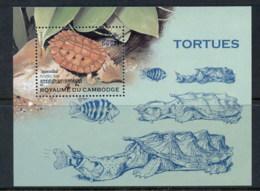 Cambodia 1998 Turtles MS MUH - Cambodia