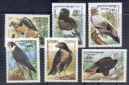 Cambodia 1999 Birds Of Prey MUH - Cambodia