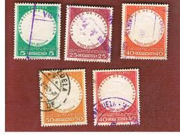 VENEZUELA  - SG 1461.1472   -  1957 ANNIVERSARIES: MONTE SACRO & BOLIVAR    -  USED° - Venezuela
