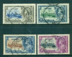 Ceylon 1935 Silver Jubilee (50c Perfin) FU Lot54993 - Sri Lanka (Ceylon) (1948-...)