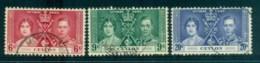 Ceylon 1937 Coronation FU Lot82481 - Sri Lanka (Ceylon) (1948-...)