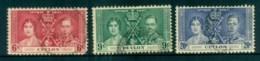 Ceylon 1937 Coronation(6c Fault) FU Lot82483 - Sri Lanka (Ceylon) (1948-...)