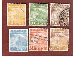VENEZUELA  - SG 1479.1499   -  1958 G.P.O. CARACAS    -  USED° - Venezuela
