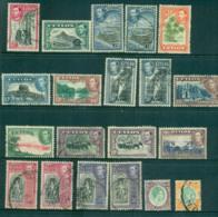 Ceylon 1938-52 KGVI Pictorials Asst, Not Perf Checked, Priced As Cheapest, 10R Telegraph Puncture FU Lot68209 - Sri Lanka (Ceylon) (1948-...)