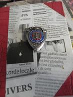 INSIGNE DES SAPEURS POMPIERS DE FRANCE - SAUVER OU PÉRIR - - Firemen