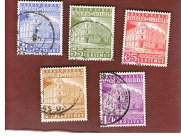 VENEZUELA  - SG 1491.1504   -  1958 G.P.O. CARACAS    -  USED° - Venezuela
