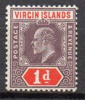 VIERGES ( POSTE ) : Y&T N°  29  TIMBRE   NEUF  SANS  TRACE  DE  CHARNIERE . - Iles Vièrges Britanniques
