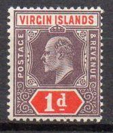 VIERGES ( POSTE ) : Y&T N°  29  TIMBRE   NEUF  SANS  TRACE  DE  CHARNIERE . - British Virgin Islands