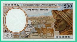 500 Francs - Afrique Centrale - N° 0006089822 - Neuf - Centrafricaine (République)