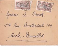 LETTRE - St.Pierre Et Miquelon - Timbre 2x N° 90 - 1910 - Lettres & Documents
