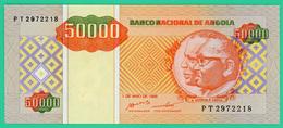 50000 Wanzas - Angola -  1995 - N° PT2972218 - Neuf - Angola