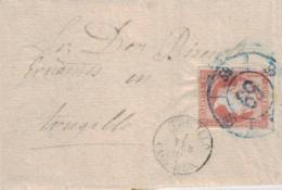Spanien - Uralter Beleg   (br1409 ) Siehe Scan ! - 1850-68 Royaume: Isabelle II
