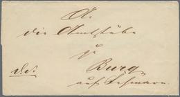 """Schleswig-Holstein - Besonderheiten: 1848, MÄRZREVOLUTION, Rotes Wachs-Siegel """"PROVISORISCHE SCHLESW - Schleswig-Holstein"""
