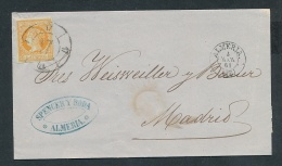 Spanien  - Uralter Beleg   (oo5744 ) Siehe Scan ! - 1850-68 Royaume: Isabelle II