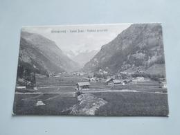 CARTOLINA GRESSONEY SAINT JEAN - VEDUTA GENERALE - Aosta