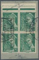Dt. Besetzung II WK - Frankreich - Dünkirchen: 1940, 25 C. Merkurkopf Im Senkrechten Paar Mit Aufdru - Occupation 1938-45