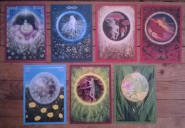 Lot De 7 Cartes Postales FAIRIES Fées Elfes / Illustrateur Petra ARNDT - Contes, Fables & Légendes