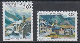 Andorra FR. 1999 Conjunt Historic De Pal 2v  ** Mnh (40652G) - Frans-Andorra