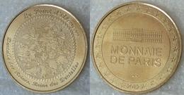 Médaille Monnaie De Paris, Le Point D'Alençon, 2012, Dentelle Des Reines - Reine Des Dentelles - Monnaie De Paris